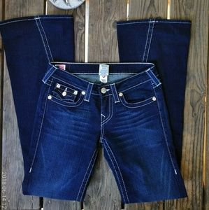 True Religion Dark Wash Joeys